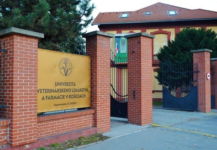 Історія Університет ветеринарної медицини та фармацевтики в Кошице