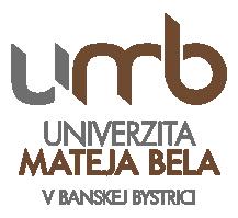 Logo Університет Матея Бела (UMB)