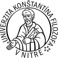 Logo Уніерситет Костянтина Філософа в Нітрі